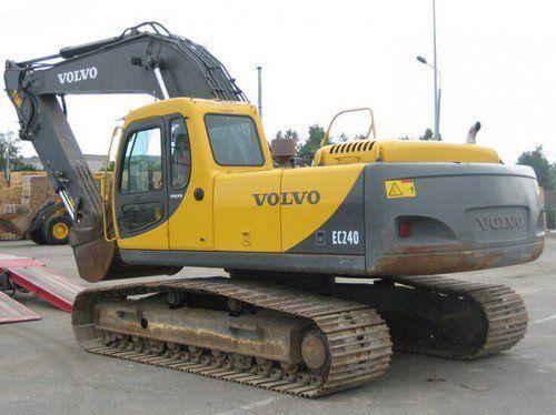 Dezmembrez Excavator Volvo 240