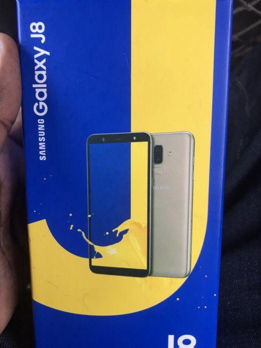 Samsung j8 duos na caixa selado