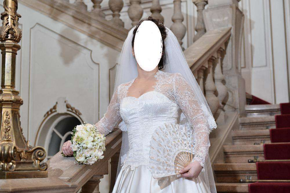 Rochie mireasa (ivory)= marime 38-40