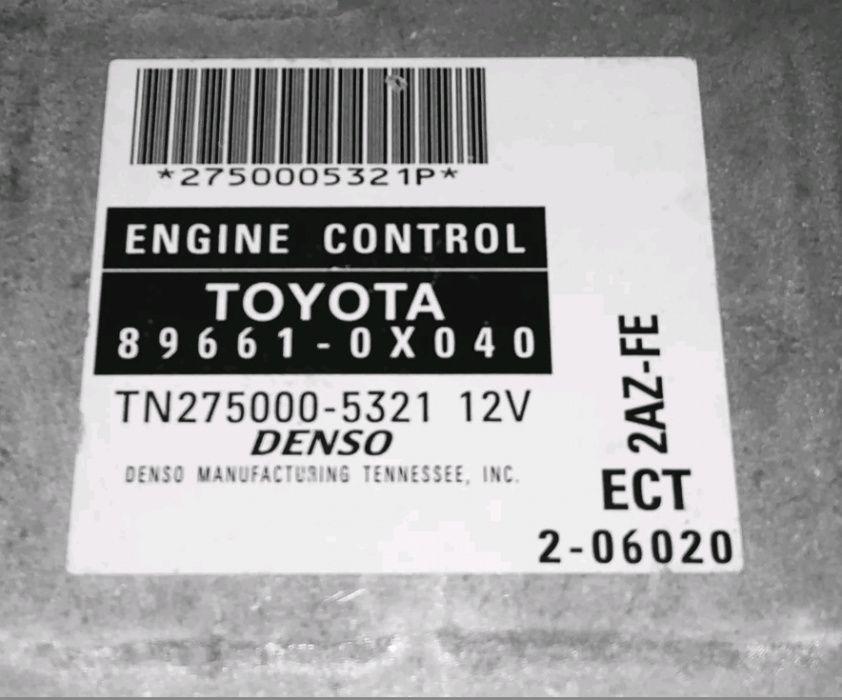 Placa electronica 2AZ para Toyota