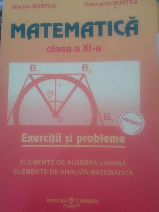 Culegere de matematica pentru clasa a 11 a