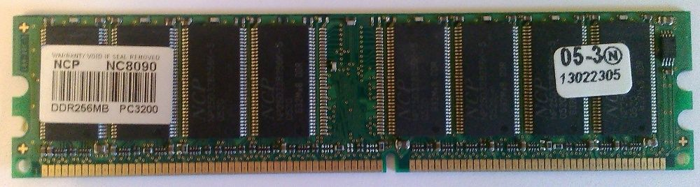 Оперативная память DDR, DDR-2, 256 mВ