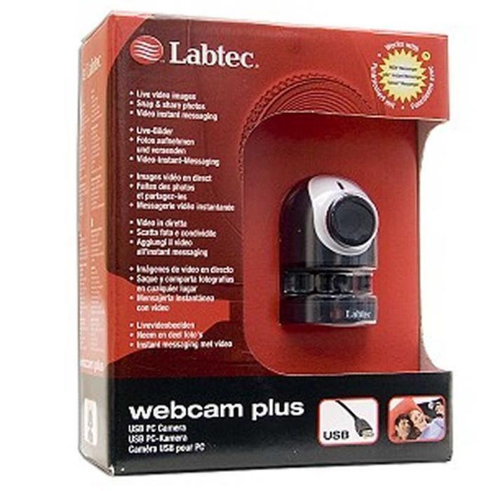 Webcam Plus Labtec USB