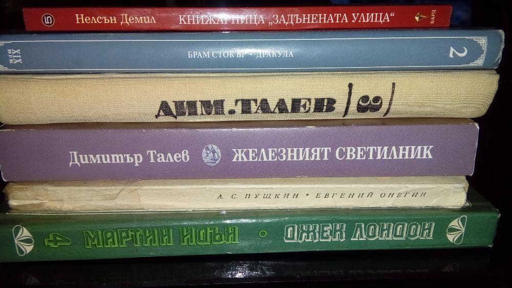 Кашон с книги (класики)