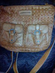 естествена кожа чанта