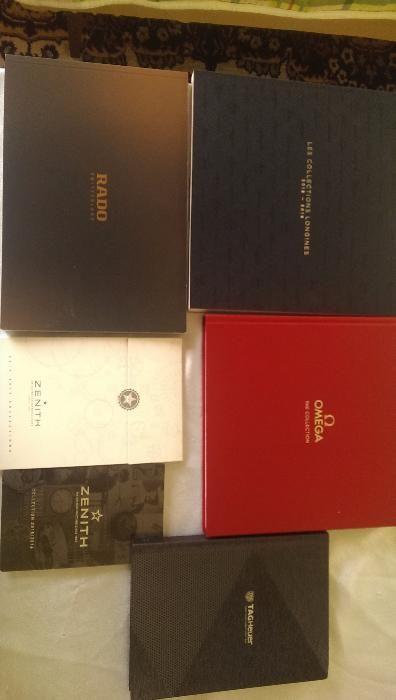 Каталози 2016-2017 Omega ,Rolex ,Longines, Tag Heuer , Rado , Zenith