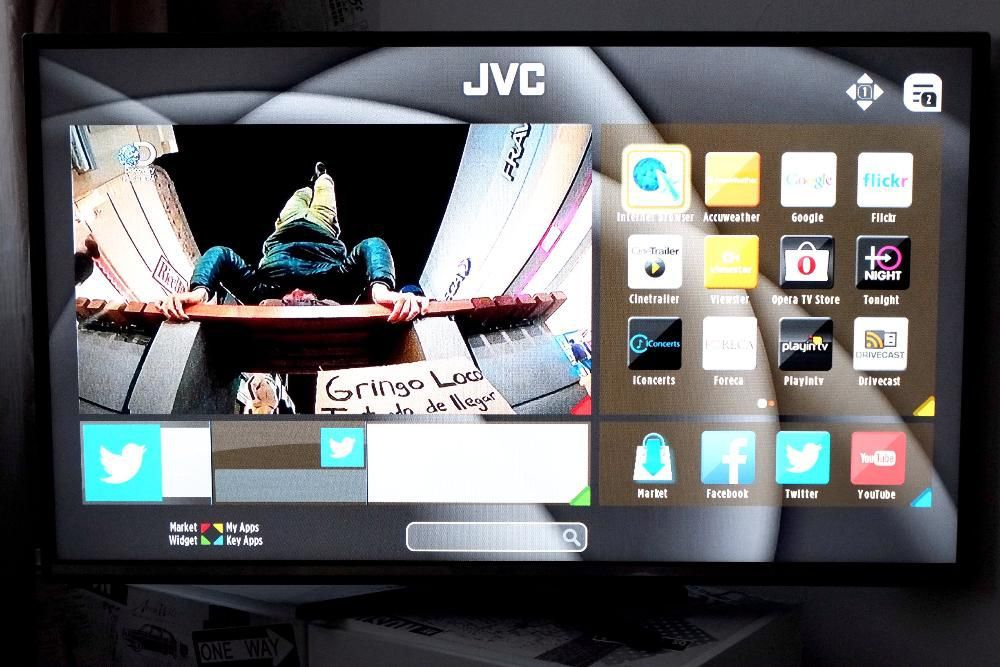 "Televizor SMART TV JVC 50"" 127cm FullHD 1080p Led IPS NOU 4 ani garant"