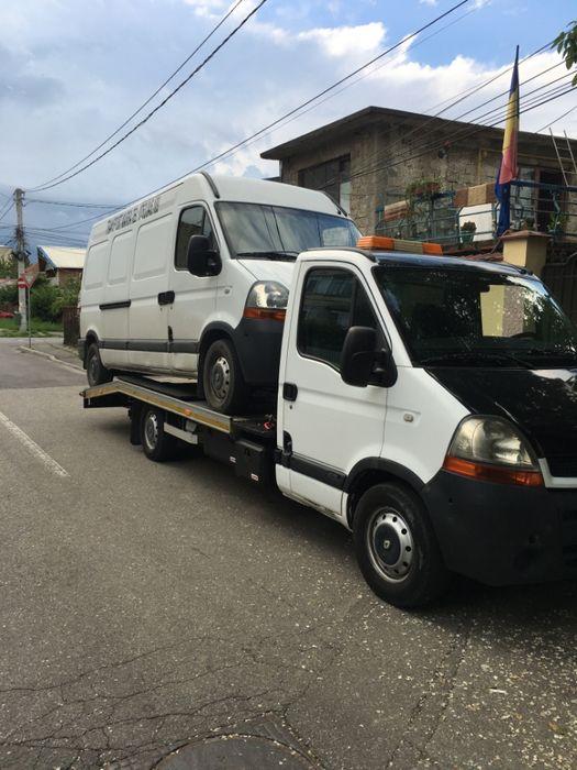 Transport auto platforma tractari auto defecte avariate rar remat
