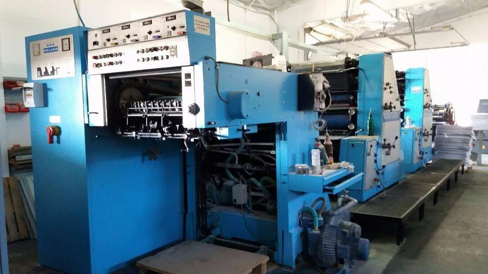 Masina tipar Roland Favorit RVFOB tipografie