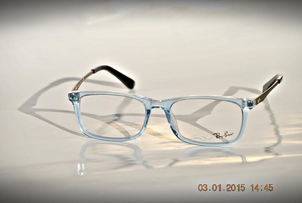 Rama de ochelari de vedere Ray ban RB5312 5810 bleu transparent