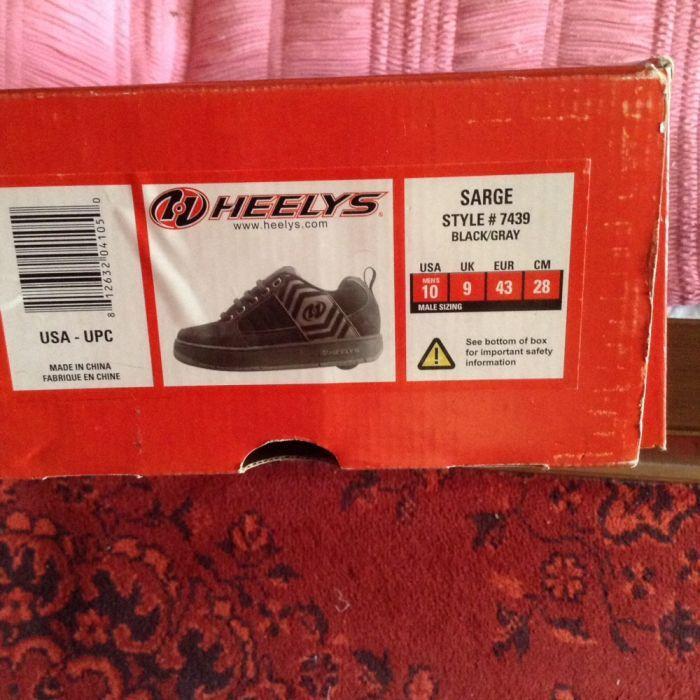 Кроссовки для мальчика Heelys