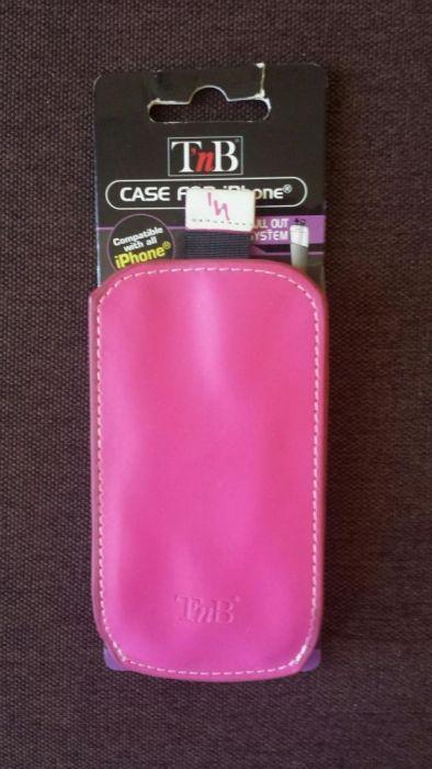 Husa T'nB roz tip saculet pentru iPhone 3 / 4 sau si alte tipuri
