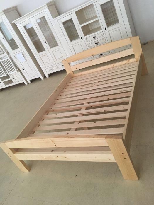 Pat lemn masiv 160/200
