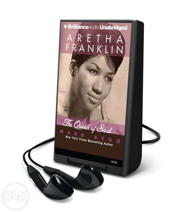 Mark Bego, Aretha Franklin The Queen of Soul Playaway audiobook