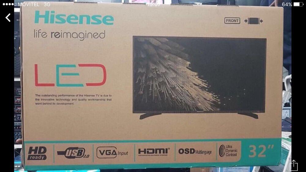 """Hinsense Tv 32"""" e 39"""" novo em folha Alto-Maé - imagem 3"""
