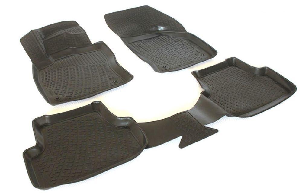 Covorase/Covoare cauciuc tip stil tavita TOYOTA Avensis Corolla Auris