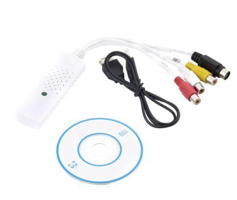 USB видеоадаптер для записи с касет видеонаблюдения видеозахват и др.U