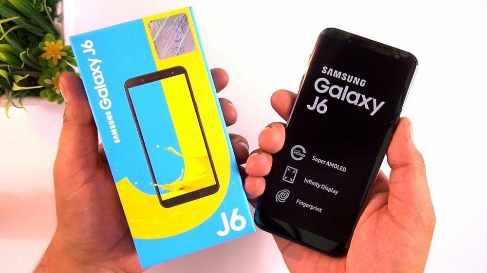 Samsung J6 2018 novos na caixa.