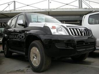 Toyota land cruiser prado a venda