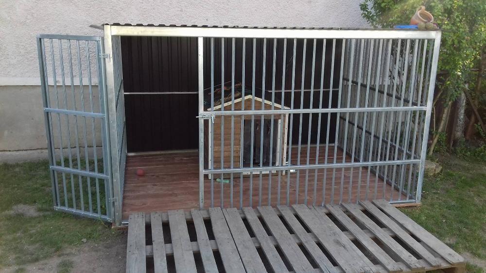 OFERTĂ: Țarc pentru câine agresiv, de 4X2m