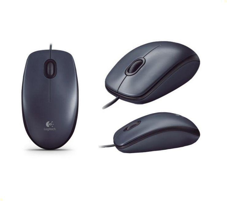 Мишка Оптична Logitech M90 Black USB 3 btn optical mouse