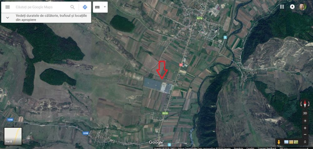 Vanzare  terenuri constructii  2000 mp Cluj, Iclod  - 21000 EURO