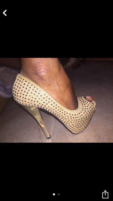 Sapatos em perfeitas condições