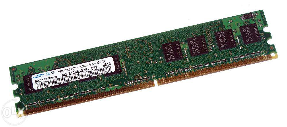 Memorie RAM calculator 1Gb DDR2 800Mhz - MEMORII BRASOV