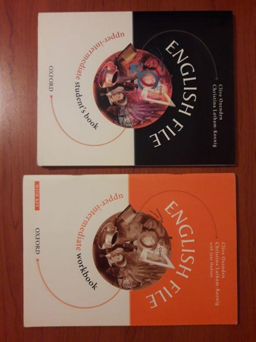 English File Upper-intermediate Student's book + Workbook