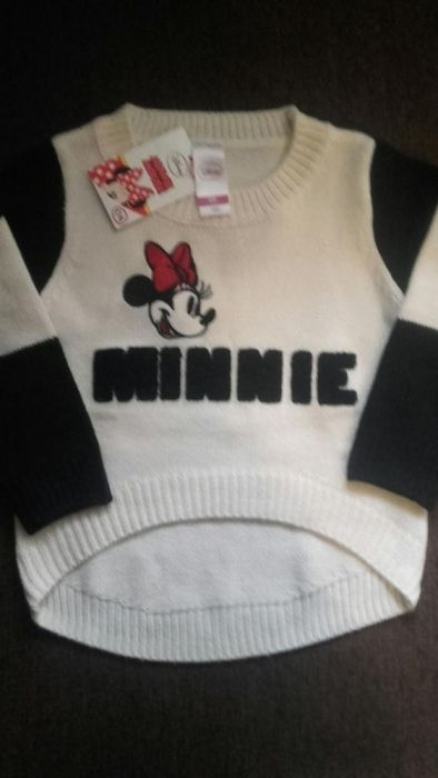 Reducere 50% Pulover Minnie Disney C&A, nr.104, 3-4 ani!