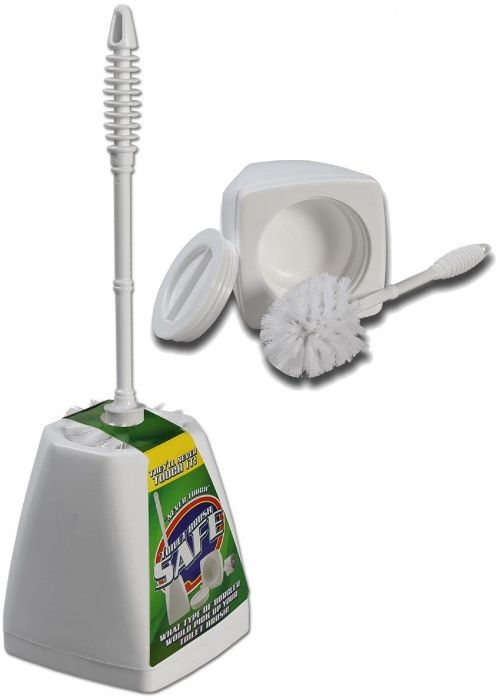 Perie toaleta functionala Ascunzatoare secreta toilet brush stash can