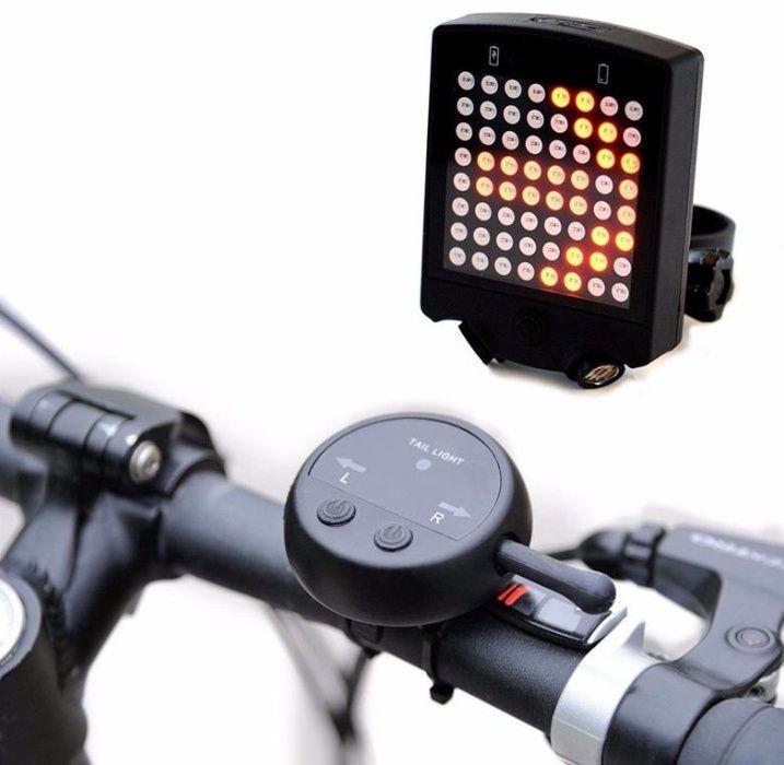 Поворотники на велосипед. ЛЕД LED подсветка на велосипед
