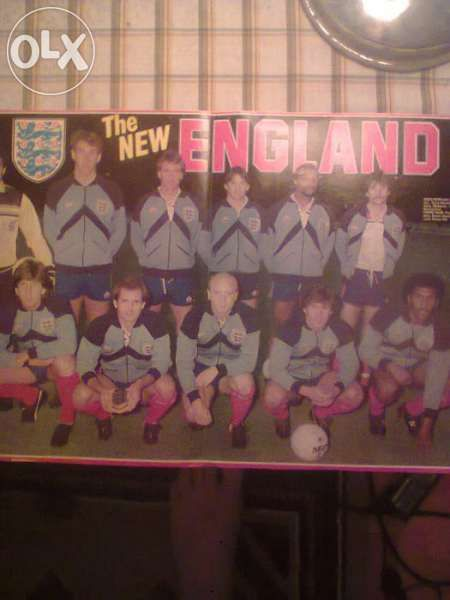 плакат на Англия 1983