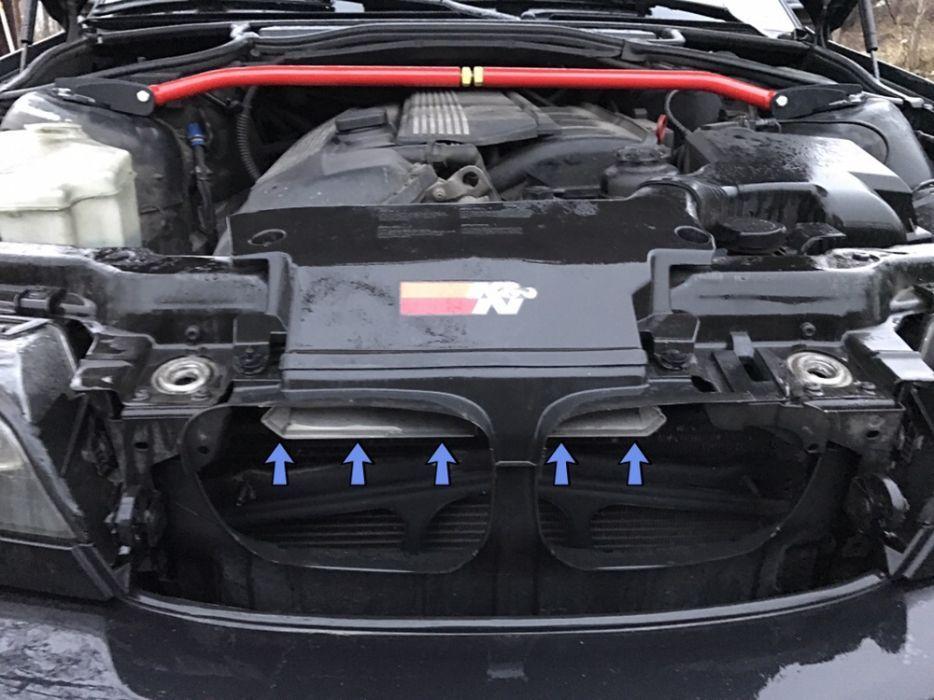 BMW e46 Intake + /K&N/ спортен филтър