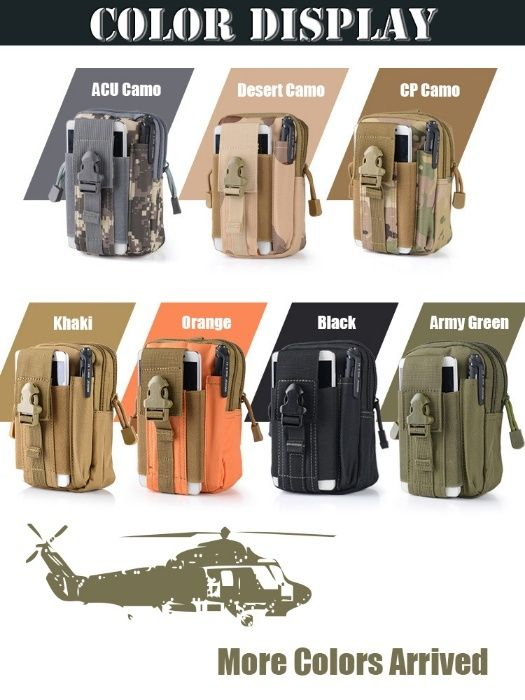 Borseta drumetie Militar Molle Army Airsoft rucsac geanta paintball