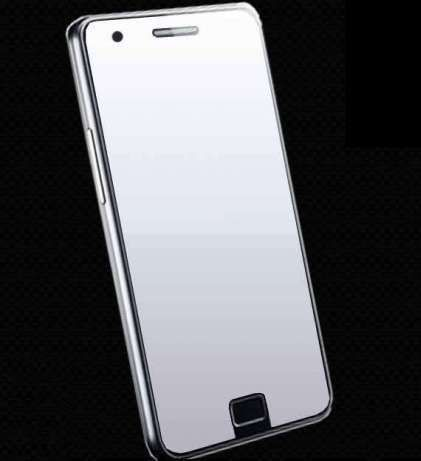 NOU! Folie tip oglinda Samsung Galaxy S2 . accesorii smartphone ecran