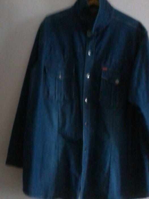 Джинсовая блузка женская 50-52