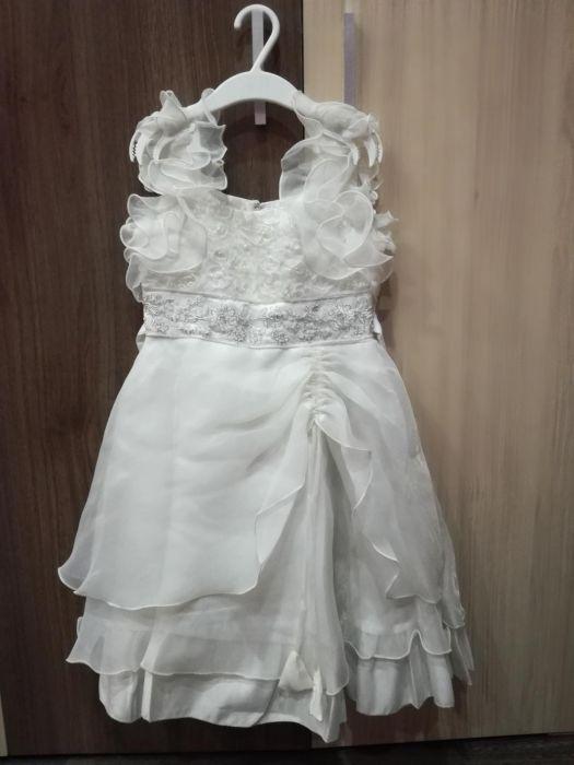 Детска официална рокля за 6-7г.