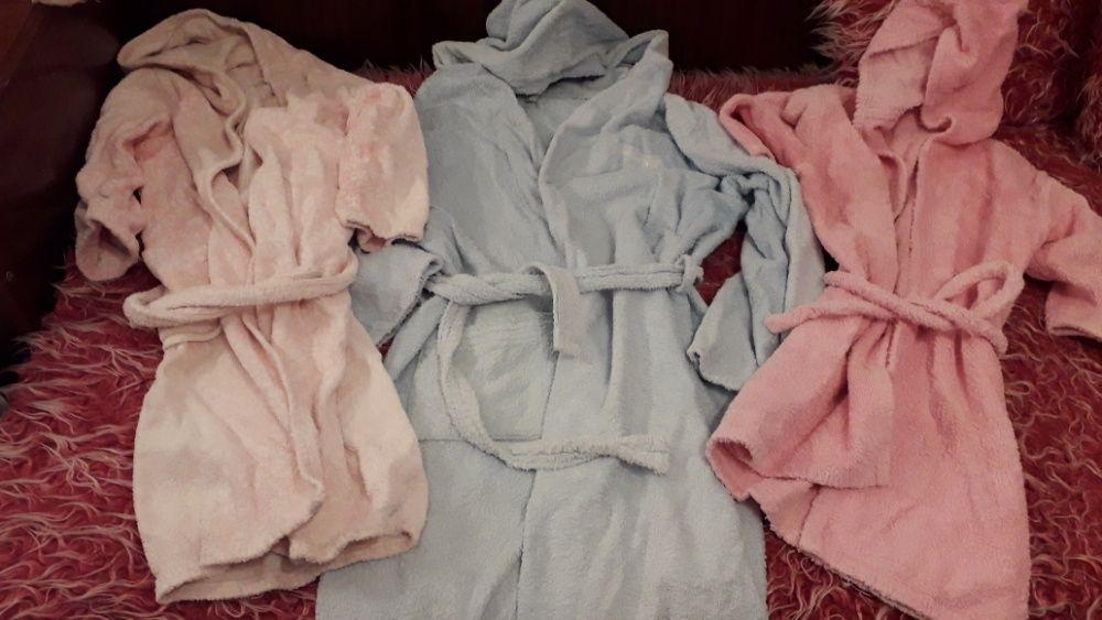 Детски халати за момче и за момиче 2бр.