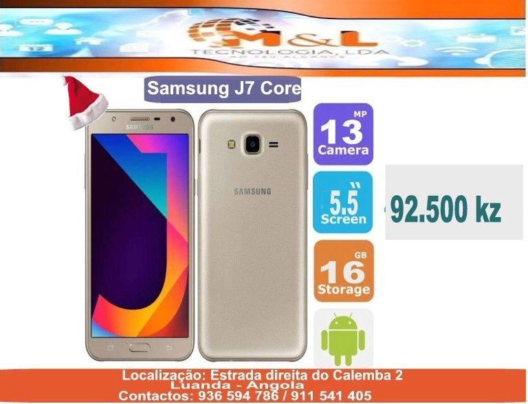 Telemóvel Samsung J7 core novo original