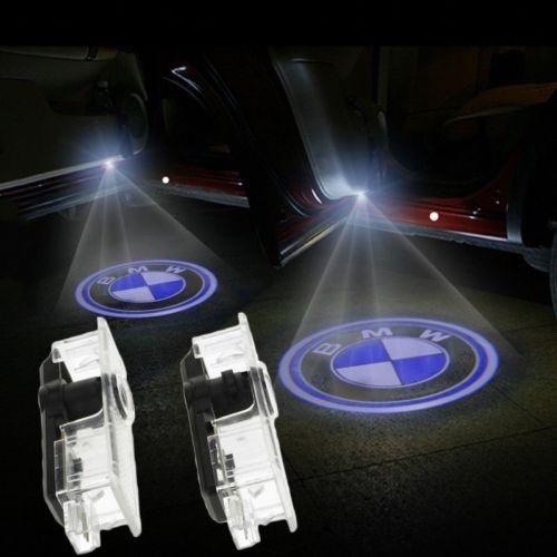 Becuri uși led holograma BMW