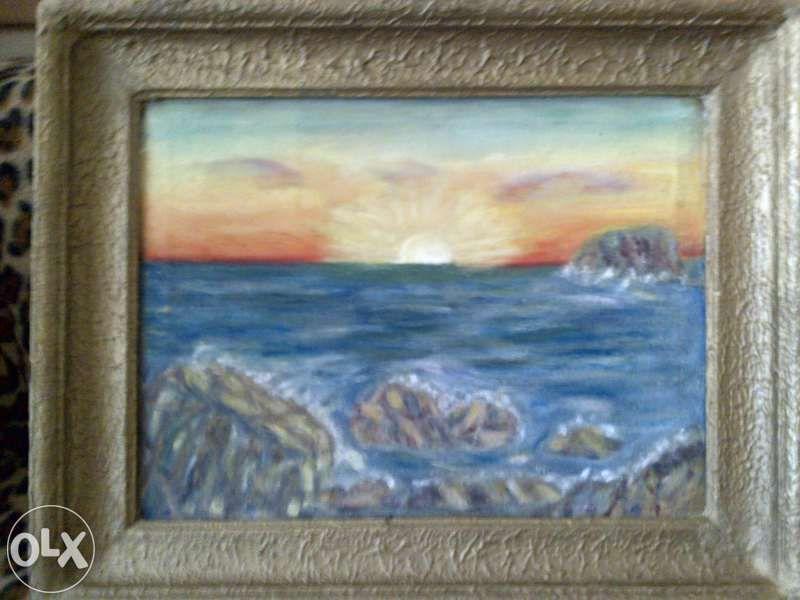 Продавам картина с маслени бои