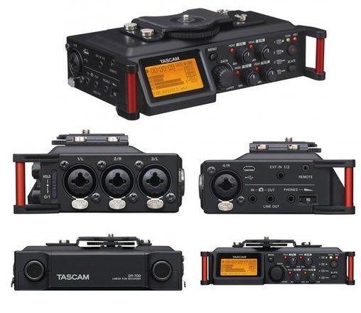 Recorder Tascam DR-70D cu 4 canale, nunti, eveniment, studio