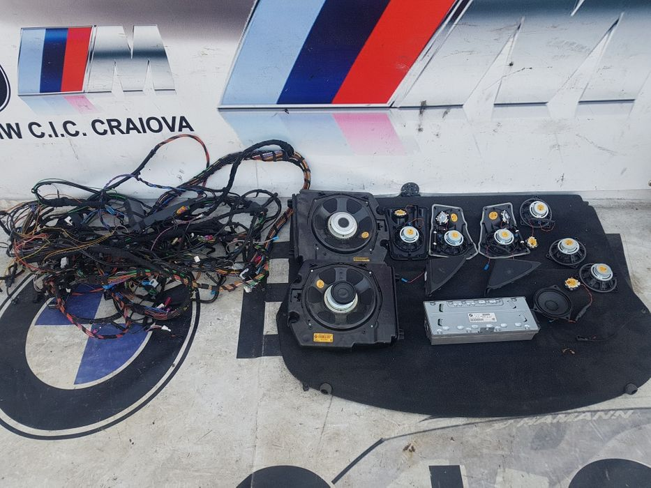 Sistem audio logic 7 profesional bmw f01 f02