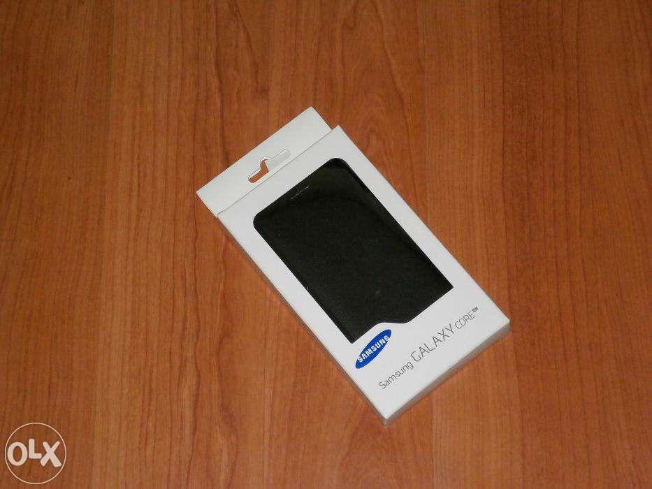 Husa telefon Samsung Galaxy Core - Samsung Flip Wallet EF-WG386BBEGEU