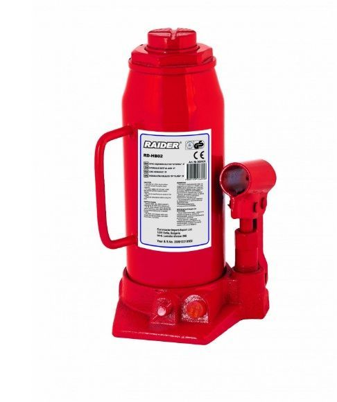Cric hidraulic tip butelie 10 tone Raider RD-HB10