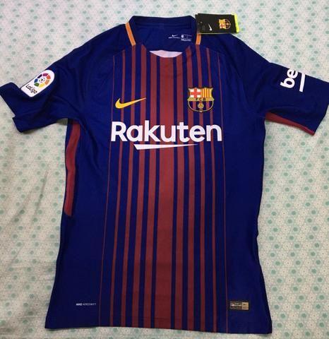 Camiseta nova do Barcelona em promoção