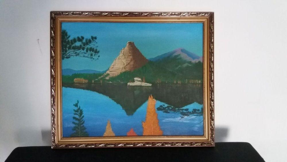"Картина ""Кокшетау. Гора Окжетпес"" (оригинал )"