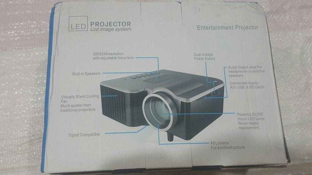 Projector para parede HD