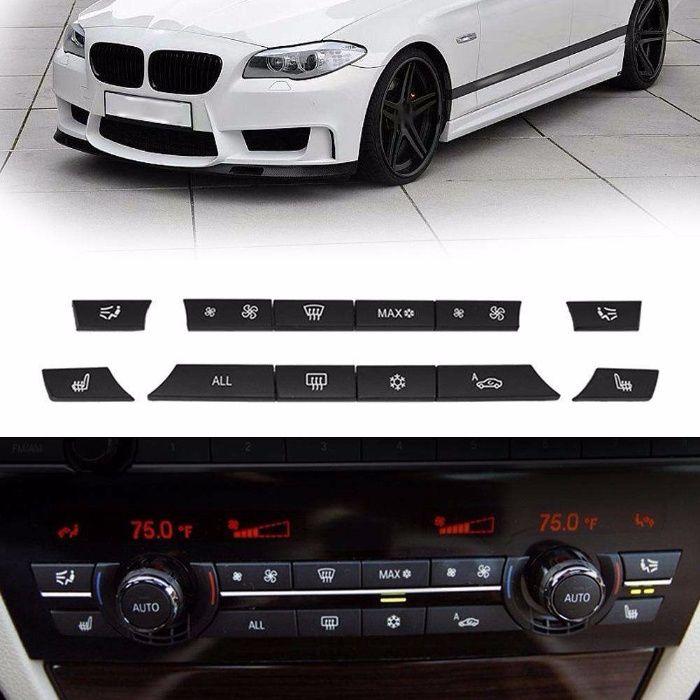 Kit 12 butoane panou Clima A/C BMW F10 F11 F07 GT F01 F02